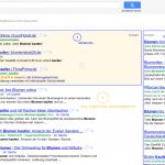 1) Google-Werbung sog. AdWords 2) Google-Werbung sog. AdWords 3) Reguläre oder auch organische Suchergebnisse